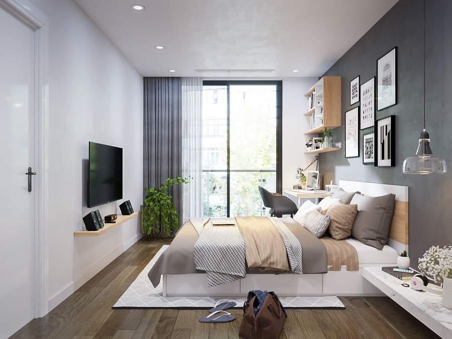 Thiết kế thi công nội thất chung cư 90m2