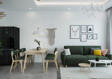 Mẫu thiết kế chung cư phong cách Bắc Âu