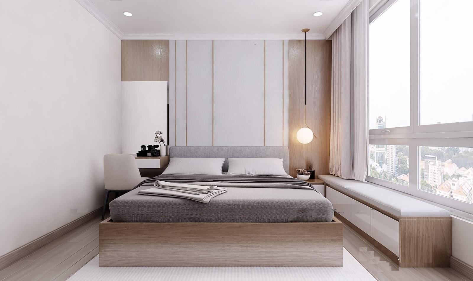 Mẫu thiết kế nội thất căn hộ 76m2