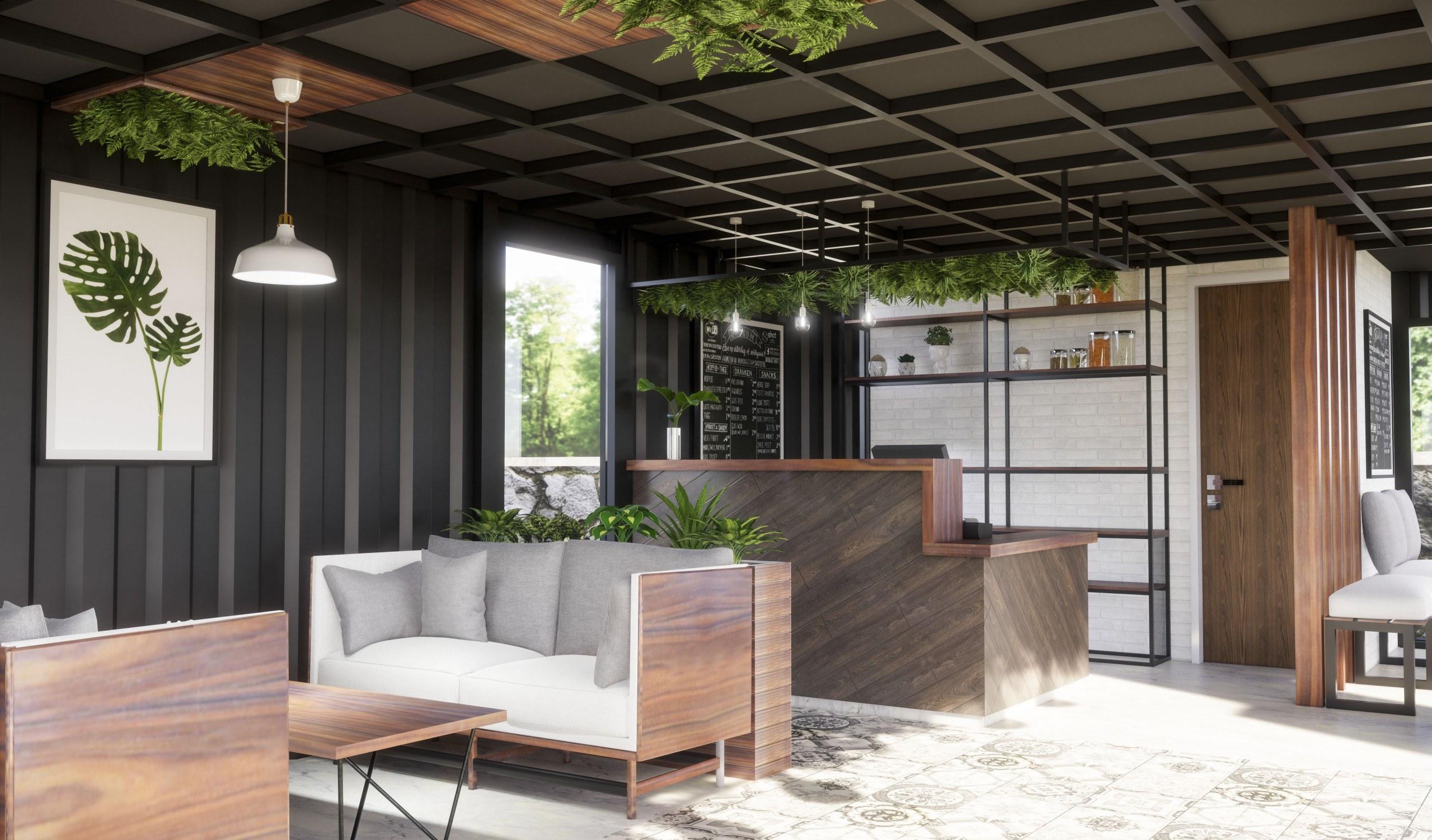 Mẫu thiết kế quán cafe độc đáo