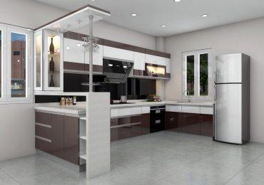 Tủ bếp đẹp 2020