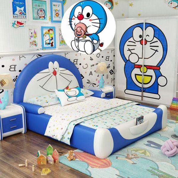 Thiết kế phòng ngủ Doremon cực bắt mắt