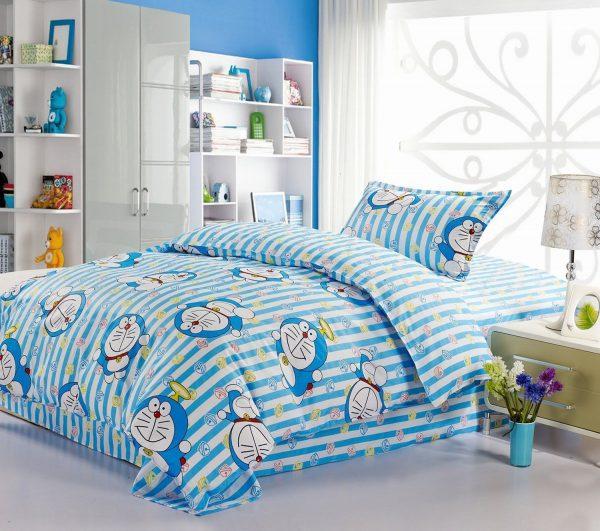 Thiết kế phòng ngủ phong cách Doremon dễ thương