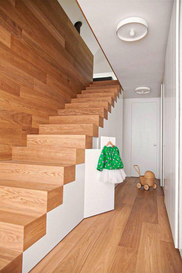 nội thất chất liệu gỗ đồng nhất