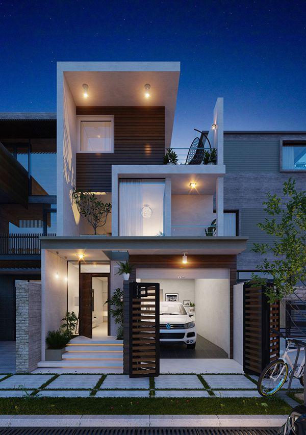thiết kế tầng trệt nhà phố là một cách để tối ưu diện tích sử dụng