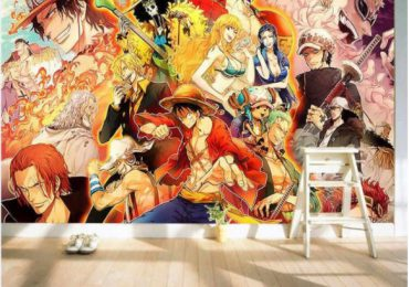 Vẽ tranh phòng ngủ anime
