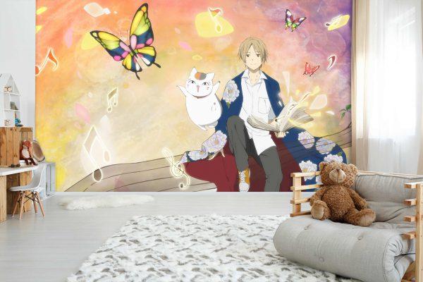 Giấy dán tường phong cách anime