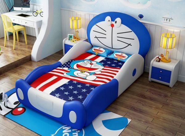 Giường ngủ Doremon dành cho bé