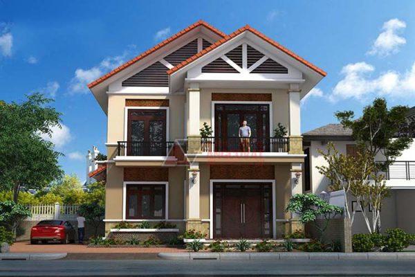 Mẫu nhà mái Thái được nhiều chủ đầu tư yêu thích