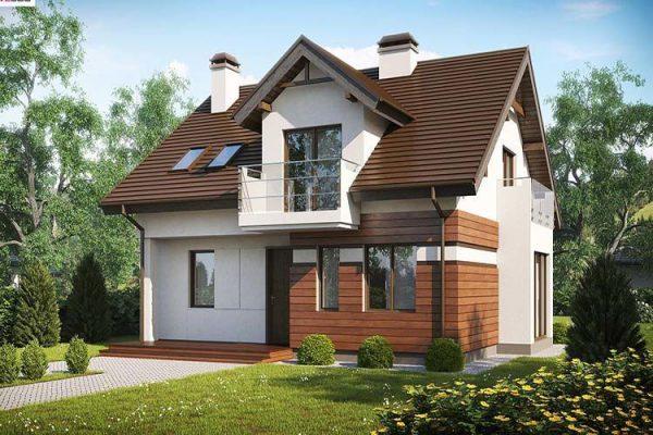 Thiết kế nhà đơn giản, phù hợp khu vực nông thôn