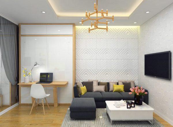 Phòng khách không gian nhỏ