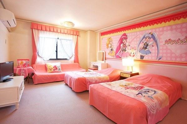 Phòng ngủ anime độc đáo, sáng tạo