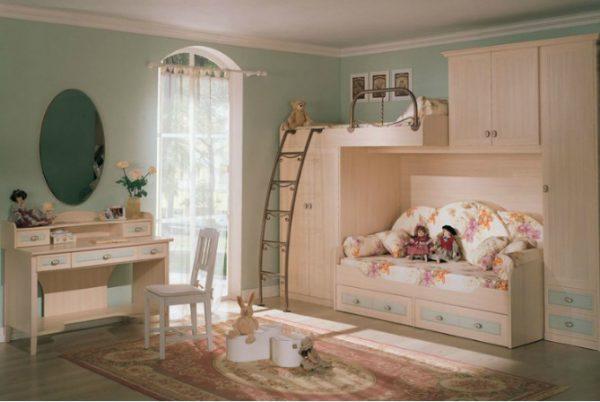 Phòng ngủ phong cách truyền thống châu Âu
