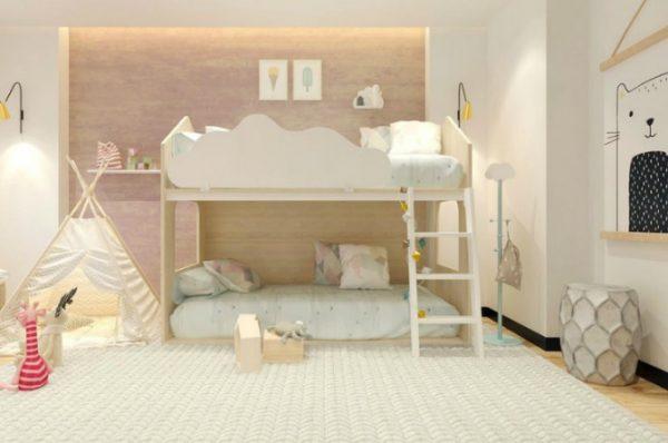 giường cho trẻ em trong gia đình
