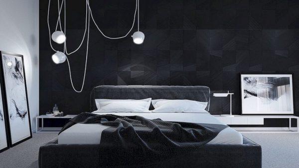 phòng trắng đen