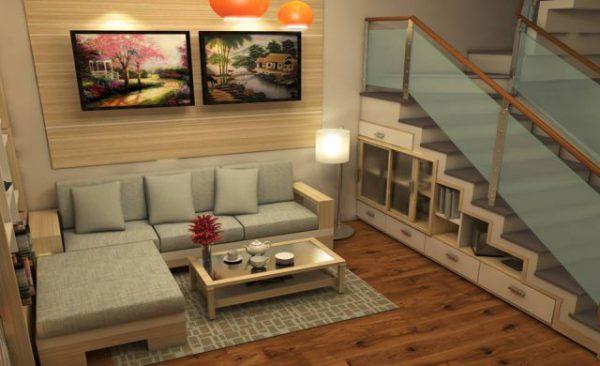 Thiết kế nội thất hiện đại, đơn giản