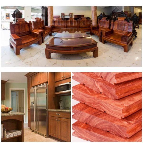 ứng dụng của gỗ giáng hương