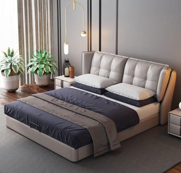 Giường bọc nệm phù hợp với mọi phong cách