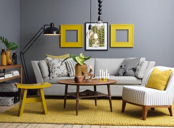 Cách phối màu độc đáo và ấn tượng cho không gian căn phòng