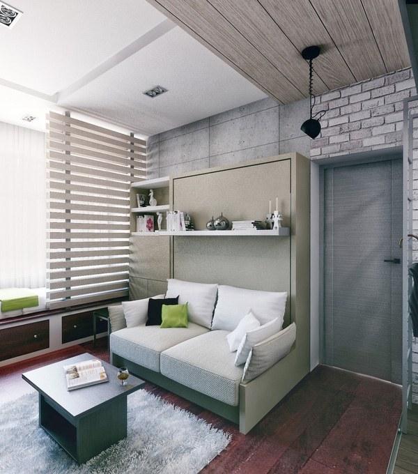 Thiết kế phòng khách hiện đại màu xám