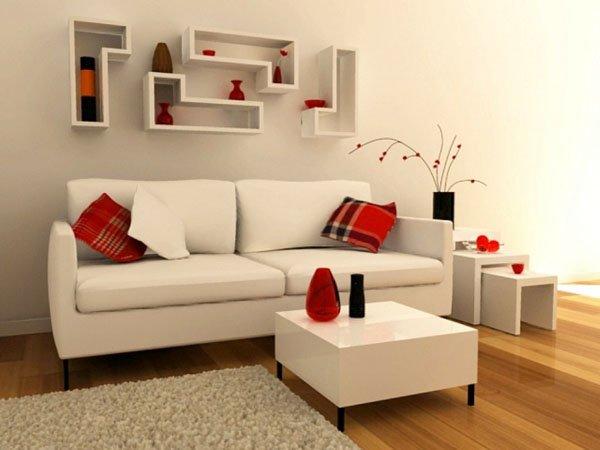 Sự đa dạng của màu sắc trong thiết kế nội thất phòng khách