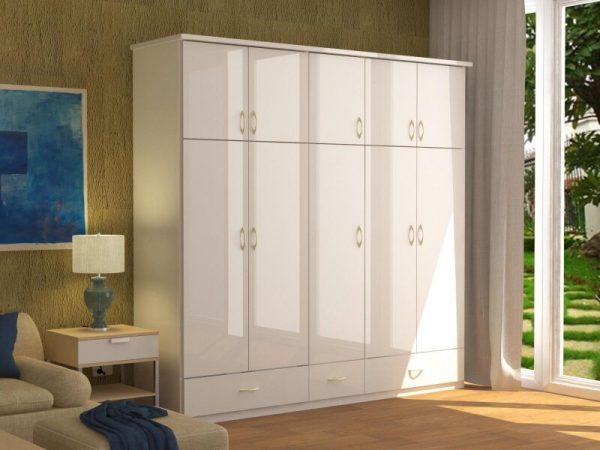 Nội thất trong nhà cho phòng ngủ: Tủ nhựa phù hợp với nhiều phong cách thiết kế nội thất