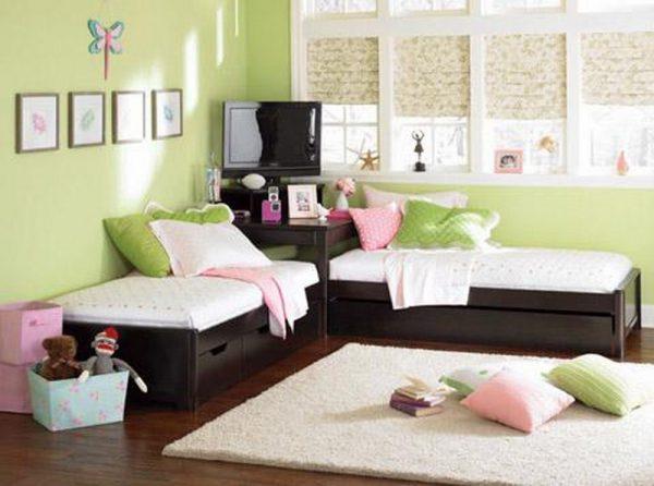 Đặt 2 giường trong phòng mang lại nhiều lợi ích