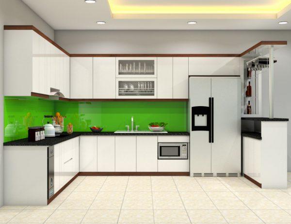 Tủ bếp hiện đại và tiện nghi