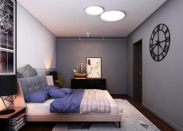 Phòng ngủ của con trai tràn ngập ánh sáng