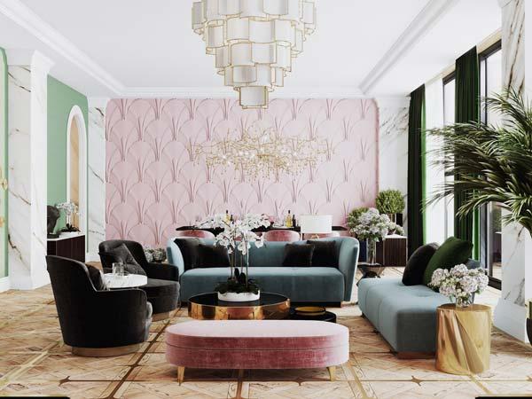 Đồ nội thất hiện đại cho không gian phòng khách