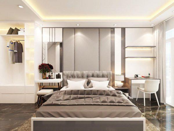 Không gian rộng với nội thất hiện đại và thông minh