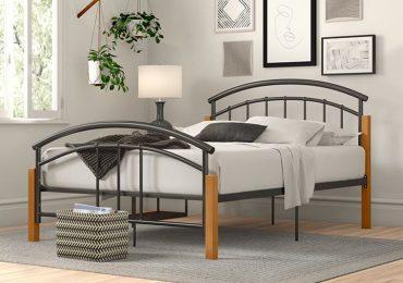 Giường kim loại thiết kế đơn giản