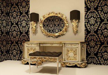 bàn với thiết kế đối xứng đặc trưng