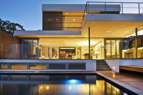 Biệt thự kết hợp hồ bơi cho không gian sống hiện đại