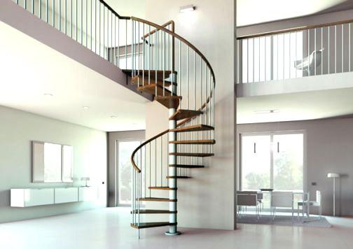 mẫu cầu thang inox tay vịn gỗ