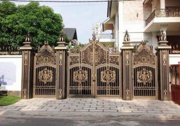 Xây dựng cổng phù hợp phong cách