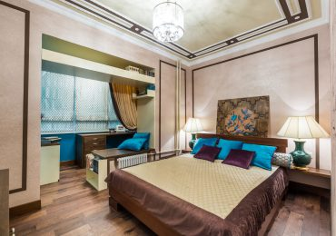 Trang trí phòng ngủ với tranh đầu giường ấn tượng