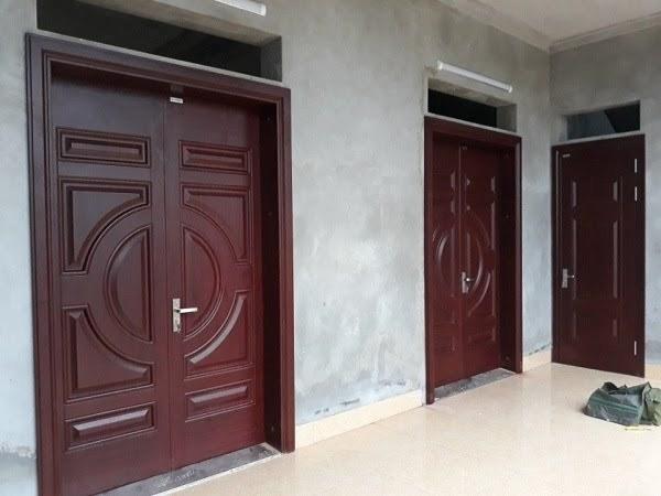 Thiết kế nhà có 2 cửa chính
