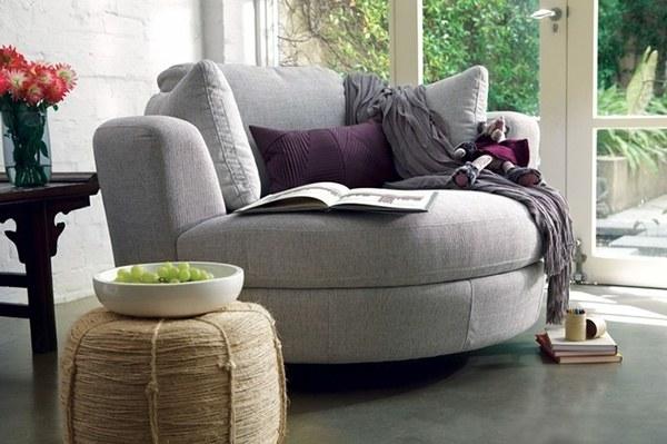 Sofa tròn đơn