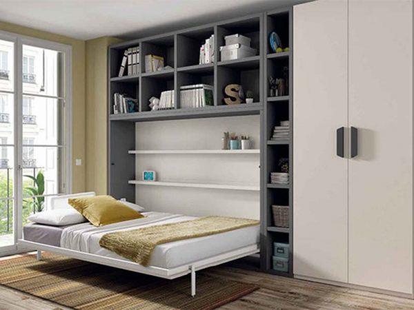 giường kết hợp tủ thông minh