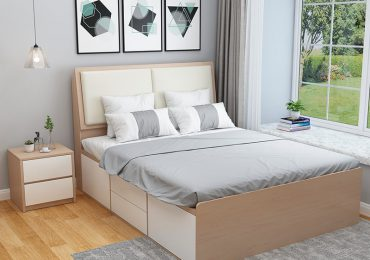 Nội thất phòng ngủ bằng nhựa hiện đại, sang trọng