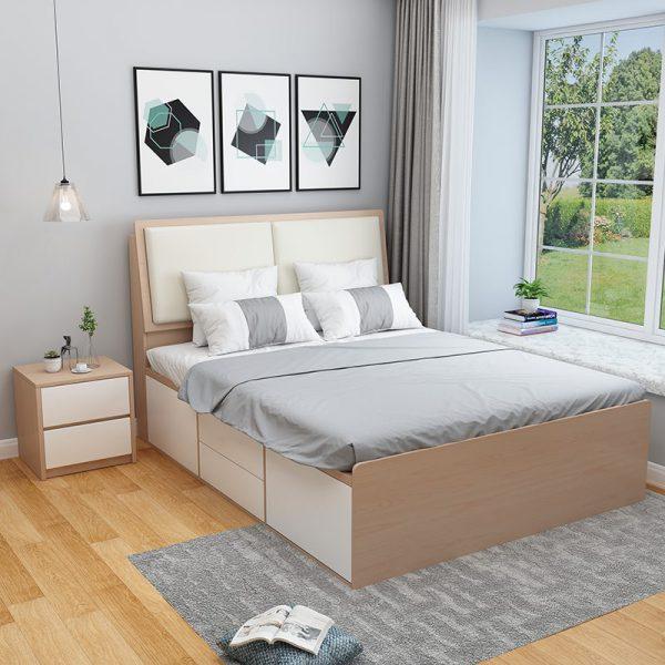 Nội thất phòng ngủ bằng nhựa hiện đại và sang trọng