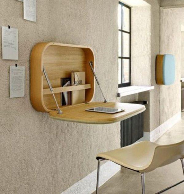 Đồ nội thất thông minh tích hợp bàn làm việc và nơi cất giữ tài liệu