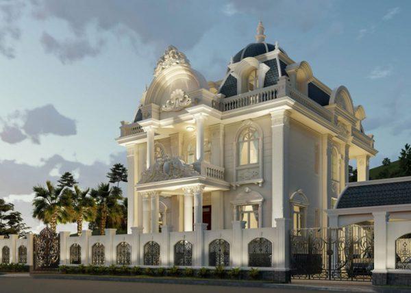 Các tông màu trắng, vàng nhạt luôn được ưu tiên trong phong cách thiết kế cổ điển