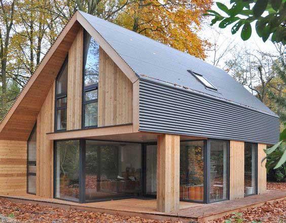 Nhà lắp ghép bằng gỗ