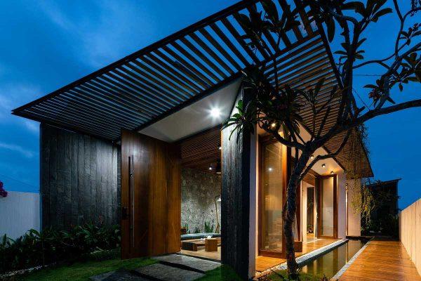 Vật liệu chính của ngôi nhà là thép