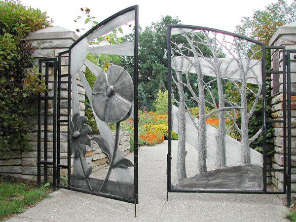 Cổng có thiết kế độc đáo và khác biệt