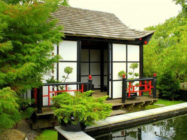 Biệt thự vườn kiểu Nhật luôn hài hòa với không gian thiên nhiên