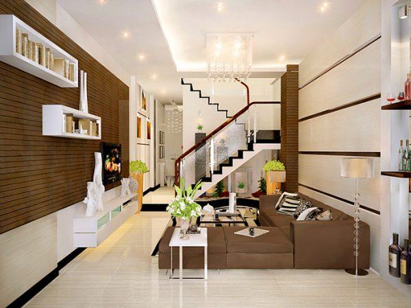 thiết kế nhà cầu thang đẹp