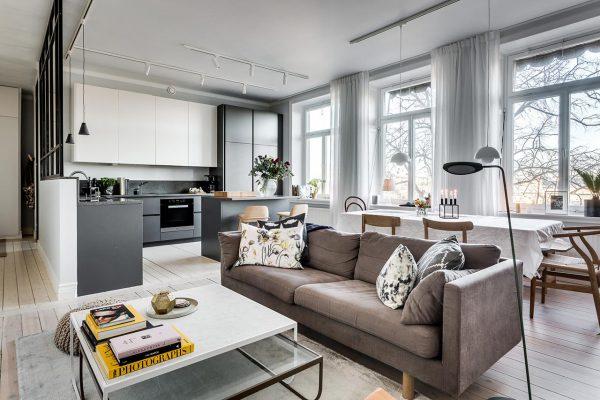 Phong cách nội thất nhập khẩu IKEA cao cấp